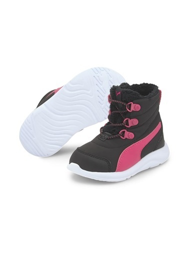 Puma Crocs   205516-0Da Crocsfl Train Band Çocuk Bebek Sandalet Terlik Siyah